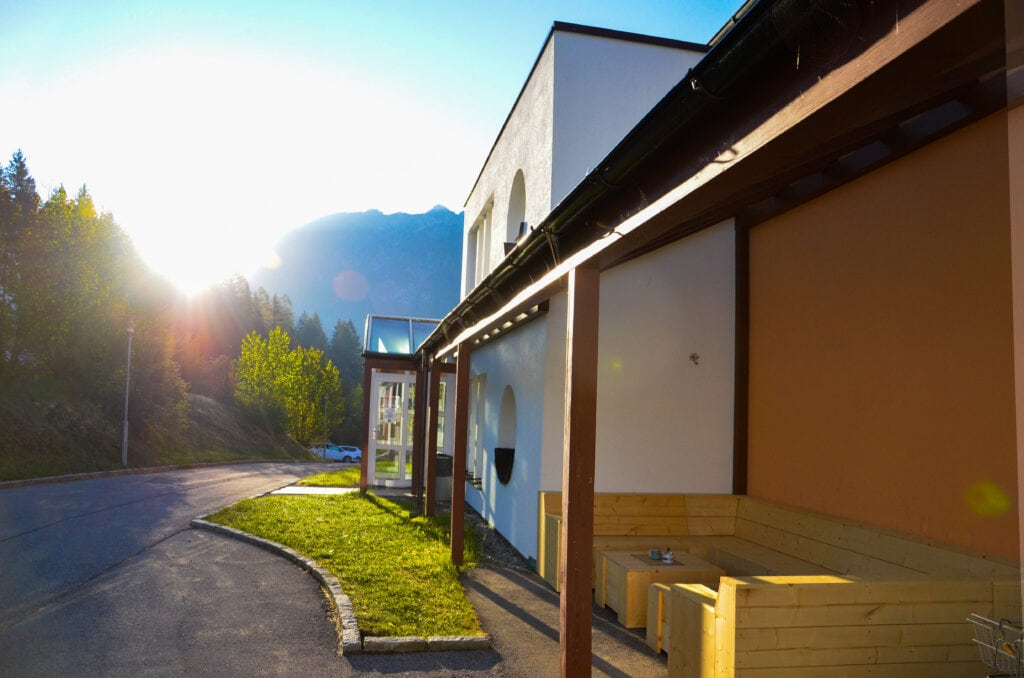Aussenansicht Wohnheim Campus Gesundheit Reutte