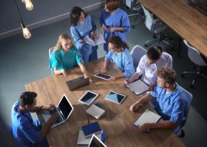 Praxis und Theorie Pflegeausbildung am Campus Gesundheit