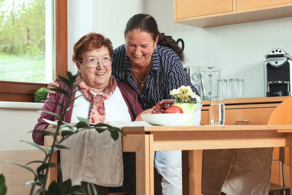 Heimhilfe in der Altenpflege