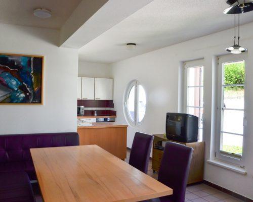 Wohnheim Aufenthaltsraum und Küche